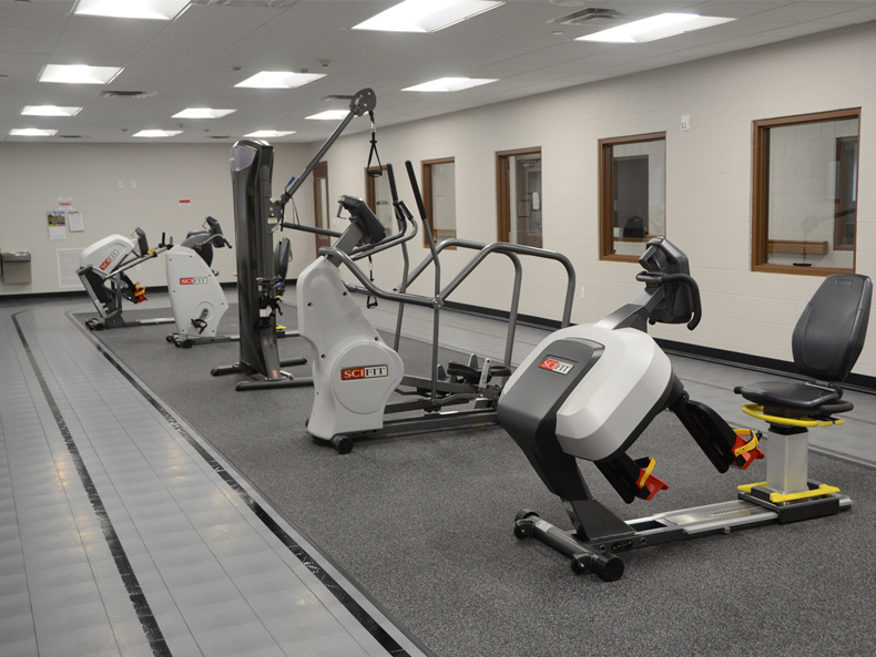 Exercise Room in Assisted Living