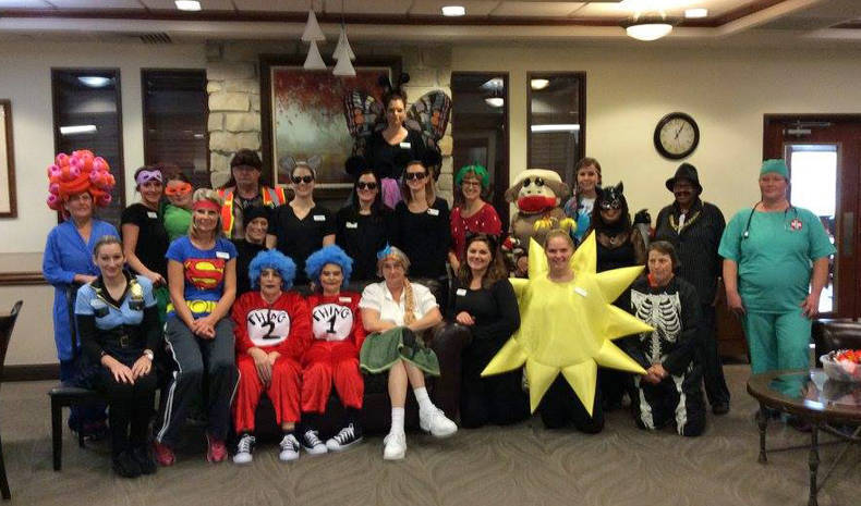 Halloween is always a fun week at St. Francis Manor!