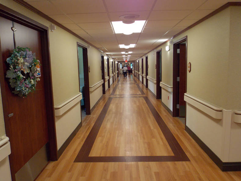 Hallway in St. Francis Manor