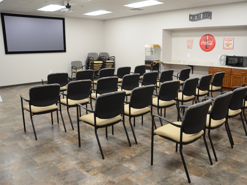 Theater & Conference Room