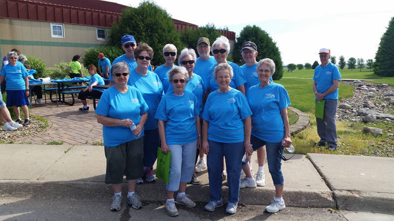 Older American Walk at Ahrens Park