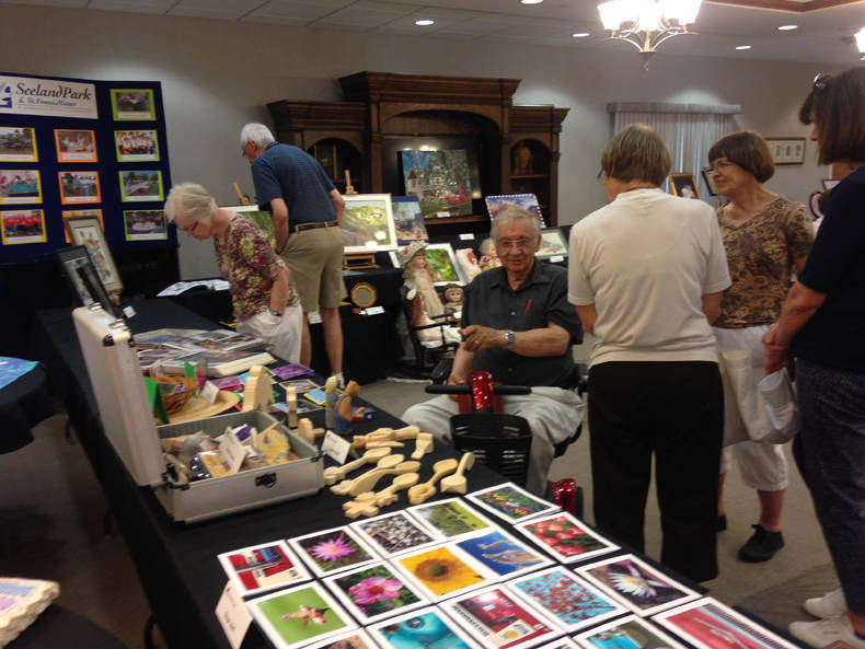 2016 Summer Tour of Homes Art & Craft Exhibit in Social Center